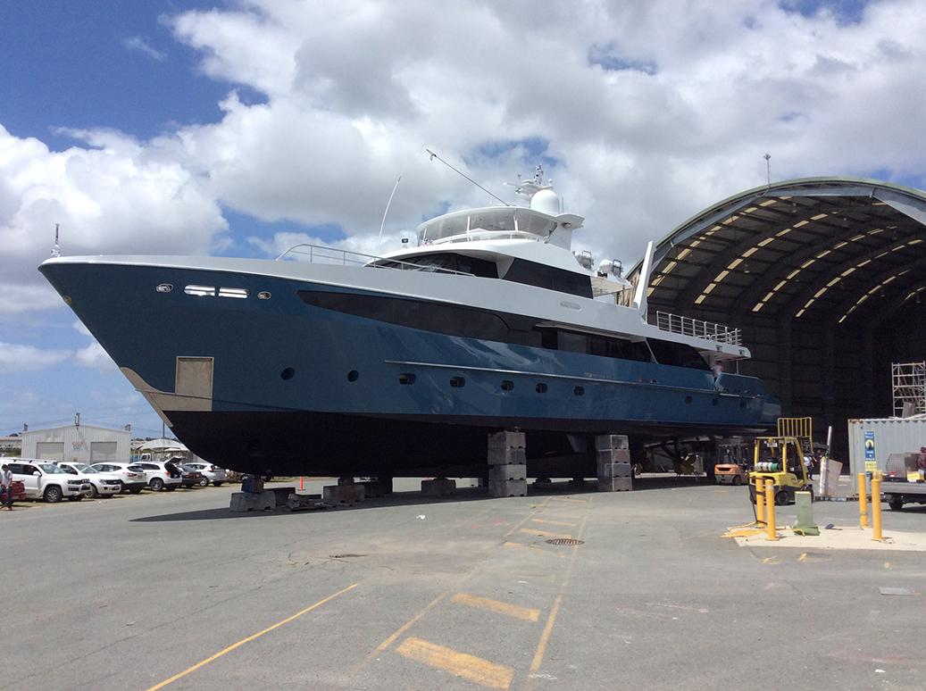 """Flying Manta"" a 42m Motor Yacht"