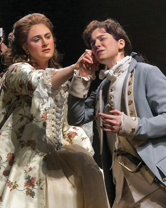 Contessa Almaviva ( Le nozze di Figaro)  Juilliard Opera Theater, 2015 C: Ken Howard