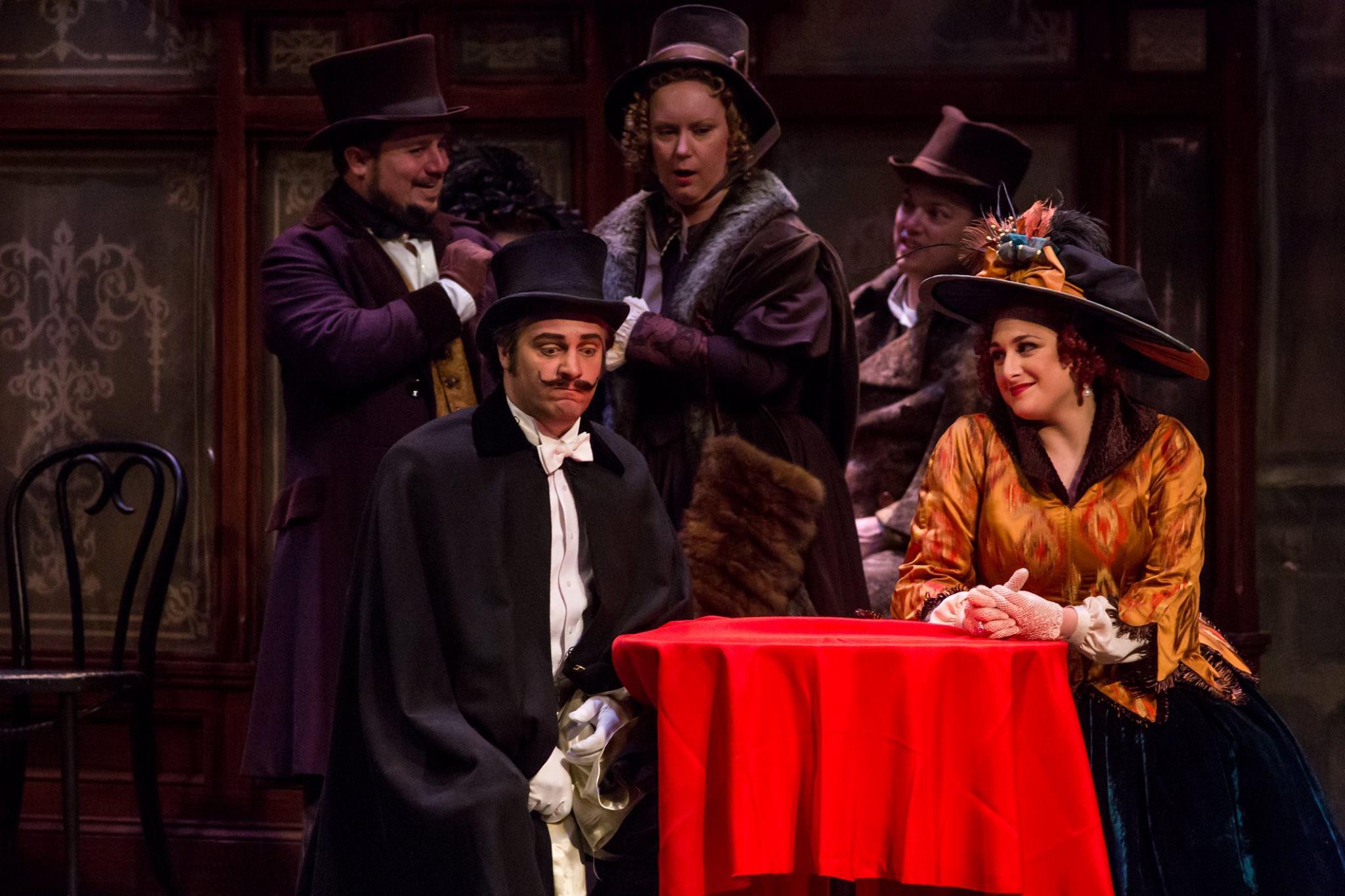 Musetta ( La bohème)  Minnesota Opera, 2017 C: Dan Norman