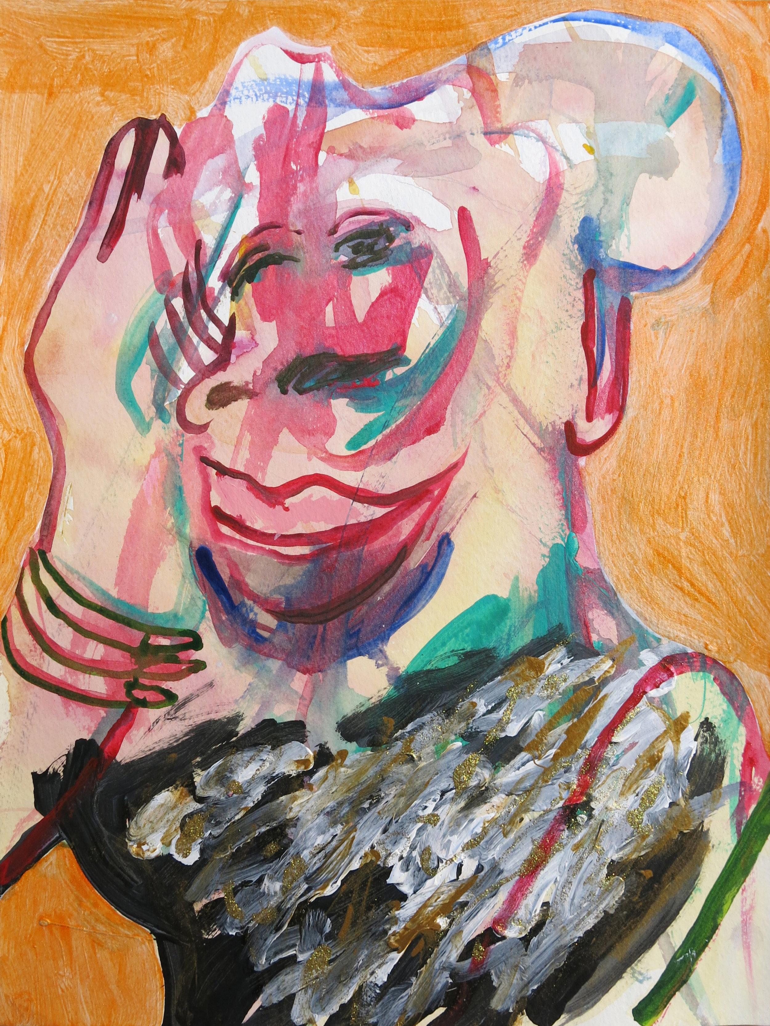 Barbra Streisand Portrait #123