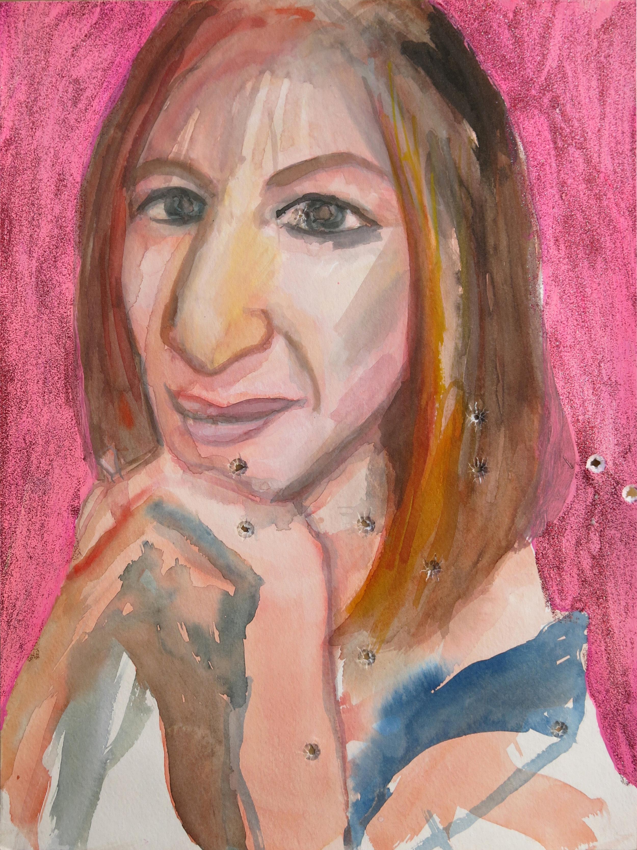Barbra Streisand Portrait #126