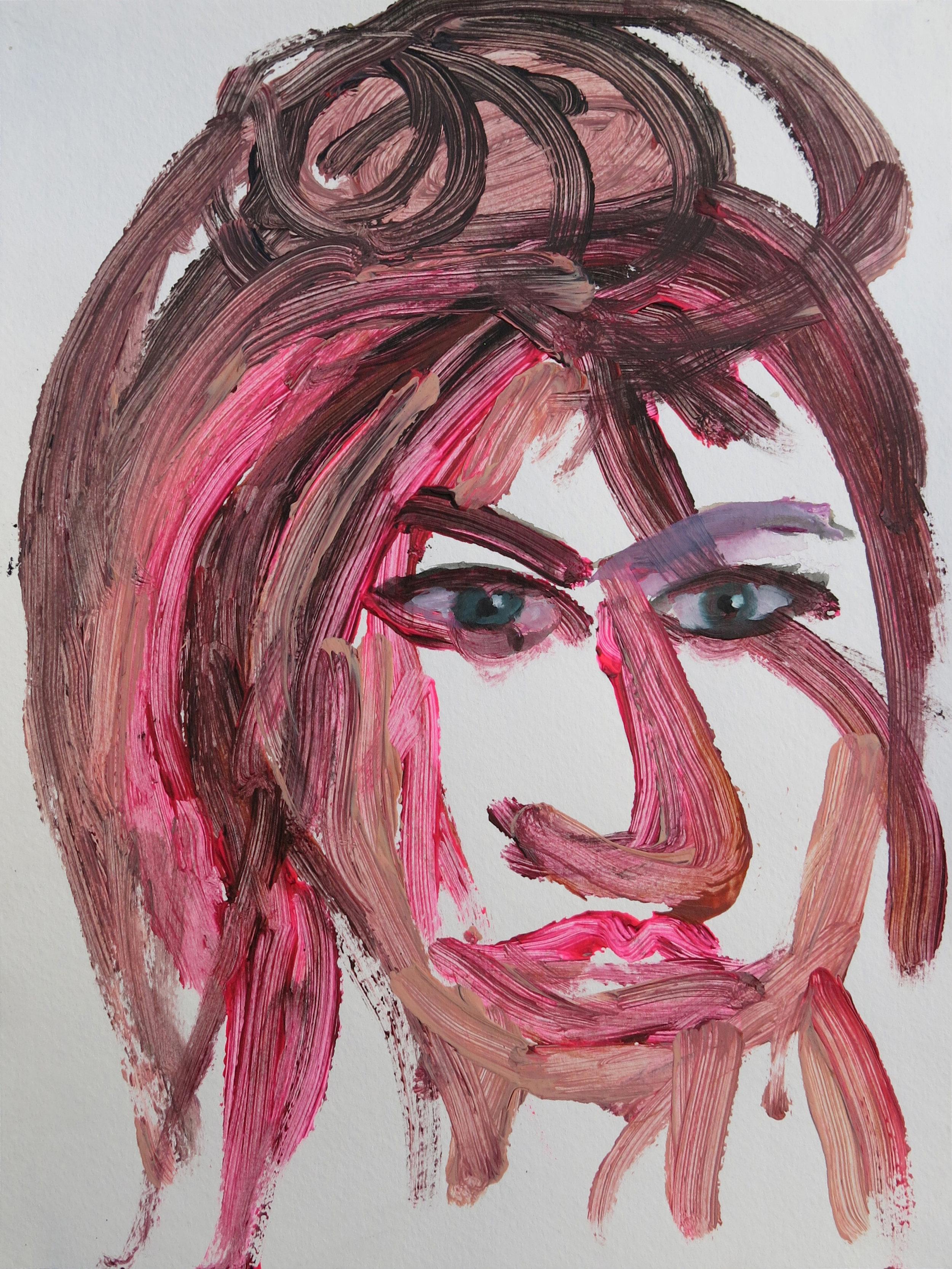 Barbra Streisand Portrait #215