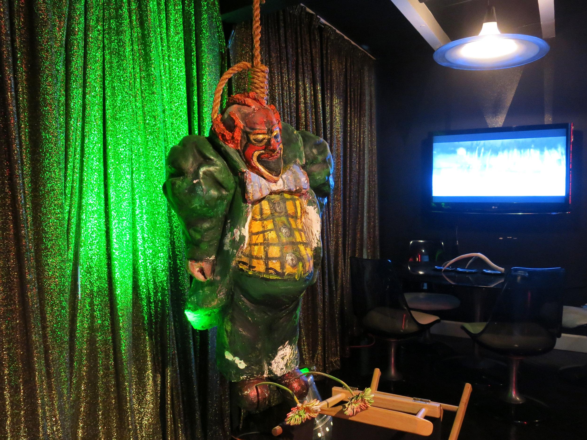 The Hanged Munchkin (installation shot)