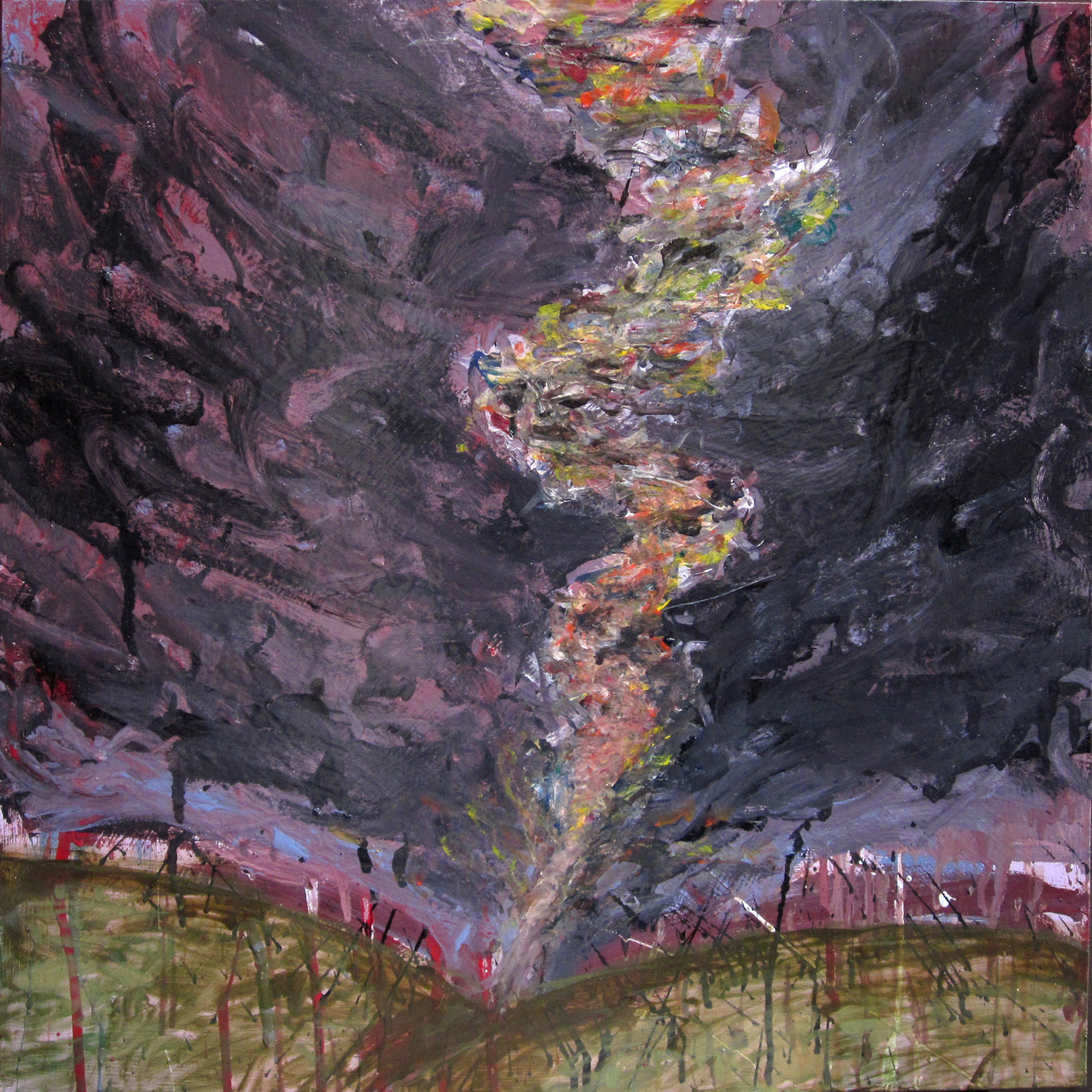 Dirty Panties Tornado (Painting 1)