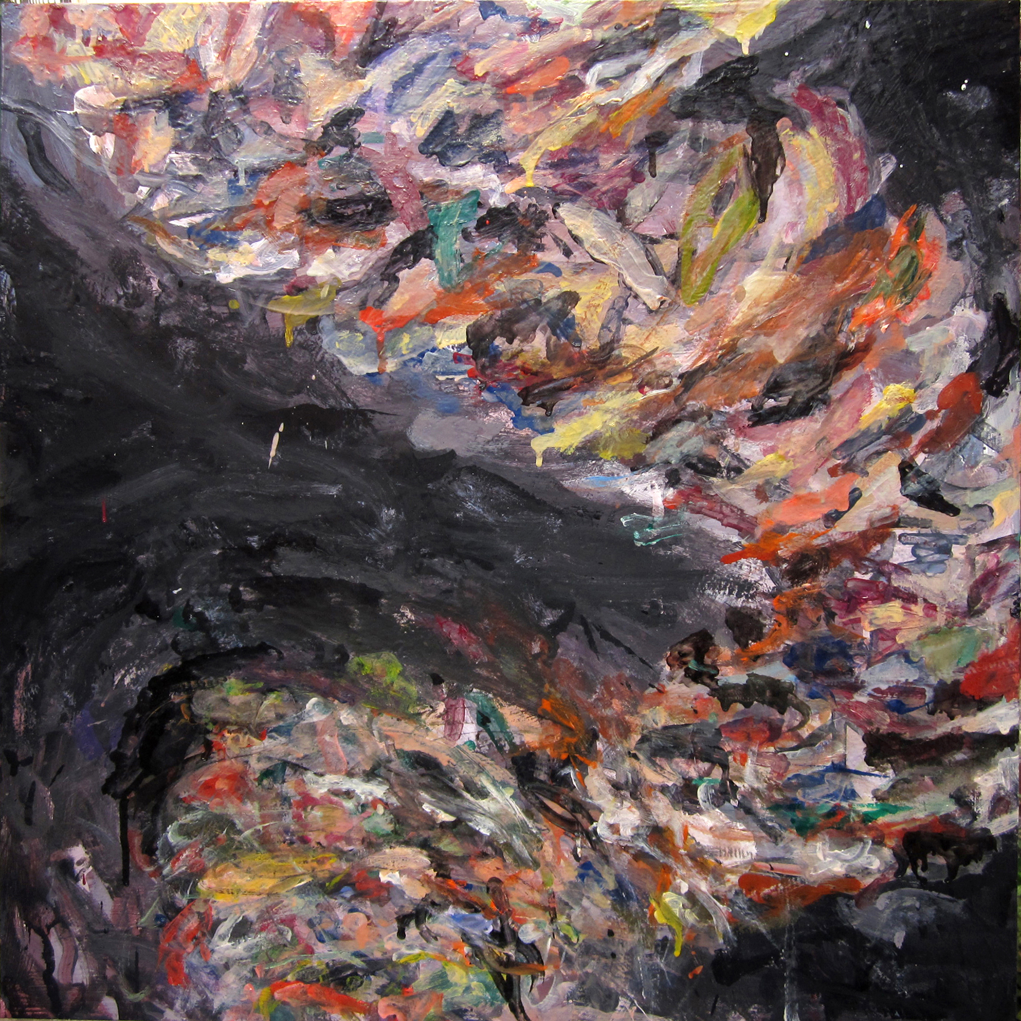 Dirty Panties Tornado (Painting II)