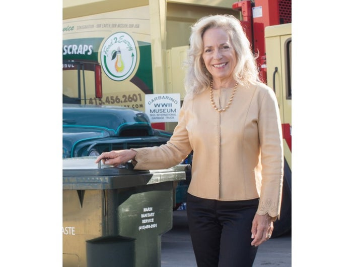 "- Patricia ""Patty"" Garbarino has blazed new trails in a heretofore male-dominated industry serving as president of Marin Sanitary Service, Marin Recycling Center and Marin Resource Recovery Center, and continued that trail blazing as the first woman president of the California Refuse Recycling Council. Today, Patty is responsible for policy development and implementation and the overall management and oversight of the operations of the company. Patty also remains directly involved in all aspects of the company's governmental and community relations as well as the Public Education Program. Patty has been recognized for her civic and community contributions, including being inducted into the Marin Women's Hall of Fame, honored with a Women in Business Award for Environmental Service; and Citizen of the Year by the City of San Rafael."