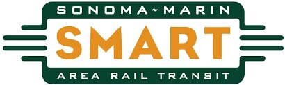 - Sonoma-Marin Area Rail Transit (SMART) is the SF Bay Area's newest transportation option for travel, offering passenger rail service in Sonoma and Marin counties. SMART's initial 43 miles of rail corridor includes 10 stations, from the Sonoma Airport to Downtown San Rafael. Future extensions include: Larkspur, which is scheduled to be completed in 2019; Windsor; Healdsburg; and Cloverdale. The full project will provide 70 miles of passenger rail service, connecting SMART passengers with jobs, education centers, retail hubs and housing along the Sonoma-Marin corridor, and a bicycle-pedestrian pathway.