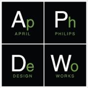 - April Philips Design Works, as architects of the land, we believe that Designers must act as Change Agents to shift the paradigm towards a regenerative landscape ideology for a beautiful, resilient and climate positive future. An environmental and socially responsible approach is incorporated into all aspects of our designs.