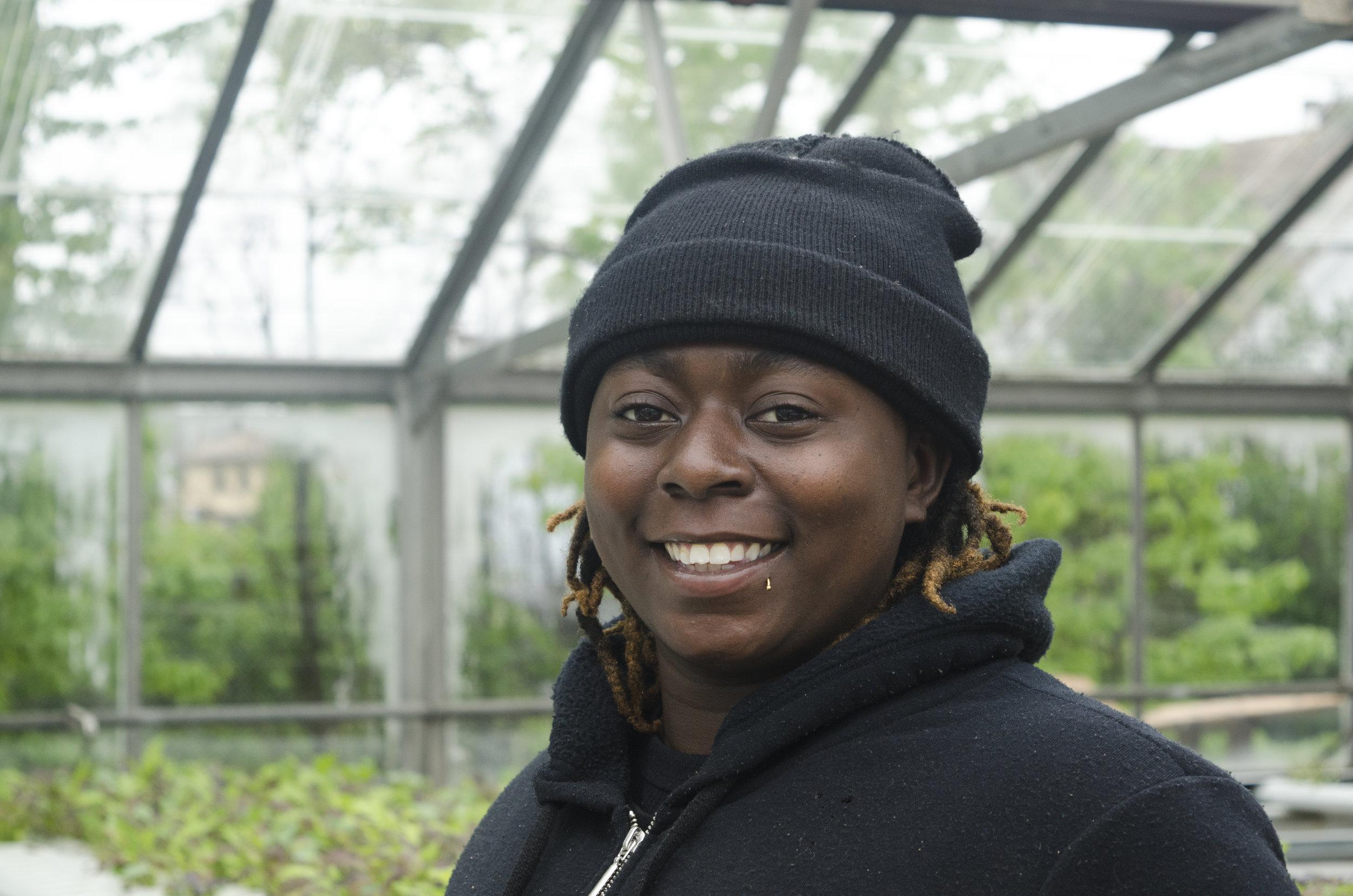 Adrieona Dewitt - Greenhouse Associate, NJ