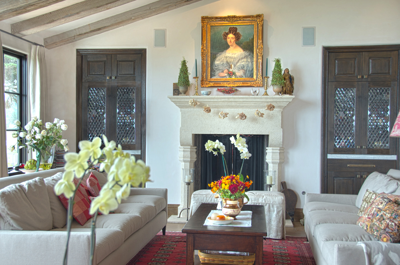 Posey Residence - 2 Living Room Fireplace.jpg