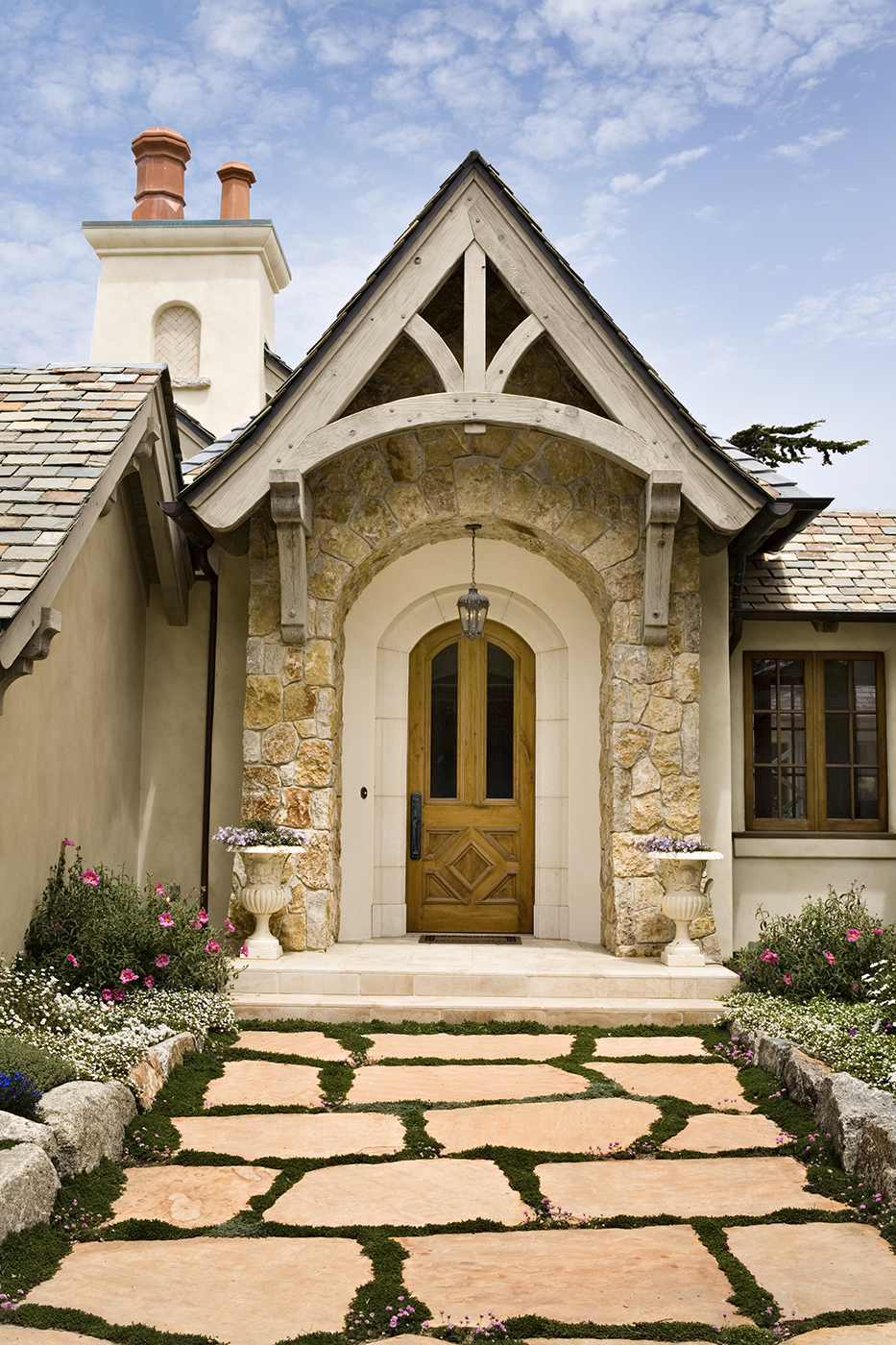 4-Smith-Entry-half-timber arch-limestone surround.jpg
