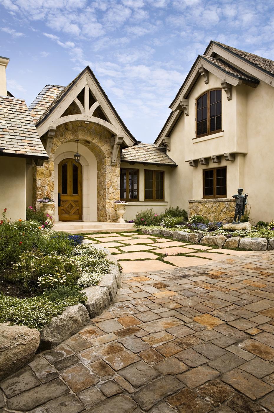 5-Smith-Entry-dune landscaping-mahogany doors and windows.jpg