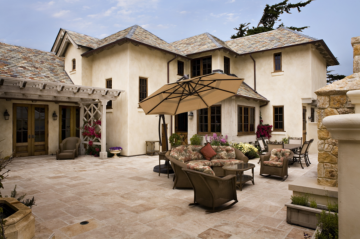 8-Smith-Sunny Courtyard with limestone pavers and redwood trellis.jpg