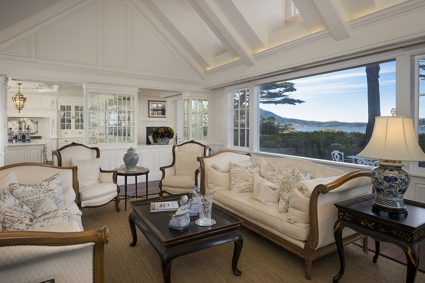 9 Ocean View - living room with leaded crystal cabinet fronts.jpg