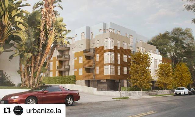 #Repost @urbanize.la ・・・ Five-story, 34-unit Empire at Norton development makes progress in West Hollywood. See more at Urbanize.LA.  #losangeles #realestate #development #construction #architecture #urbanizela #Westhollywood #weho #empirepropertygroup #levinmorrisarchitects