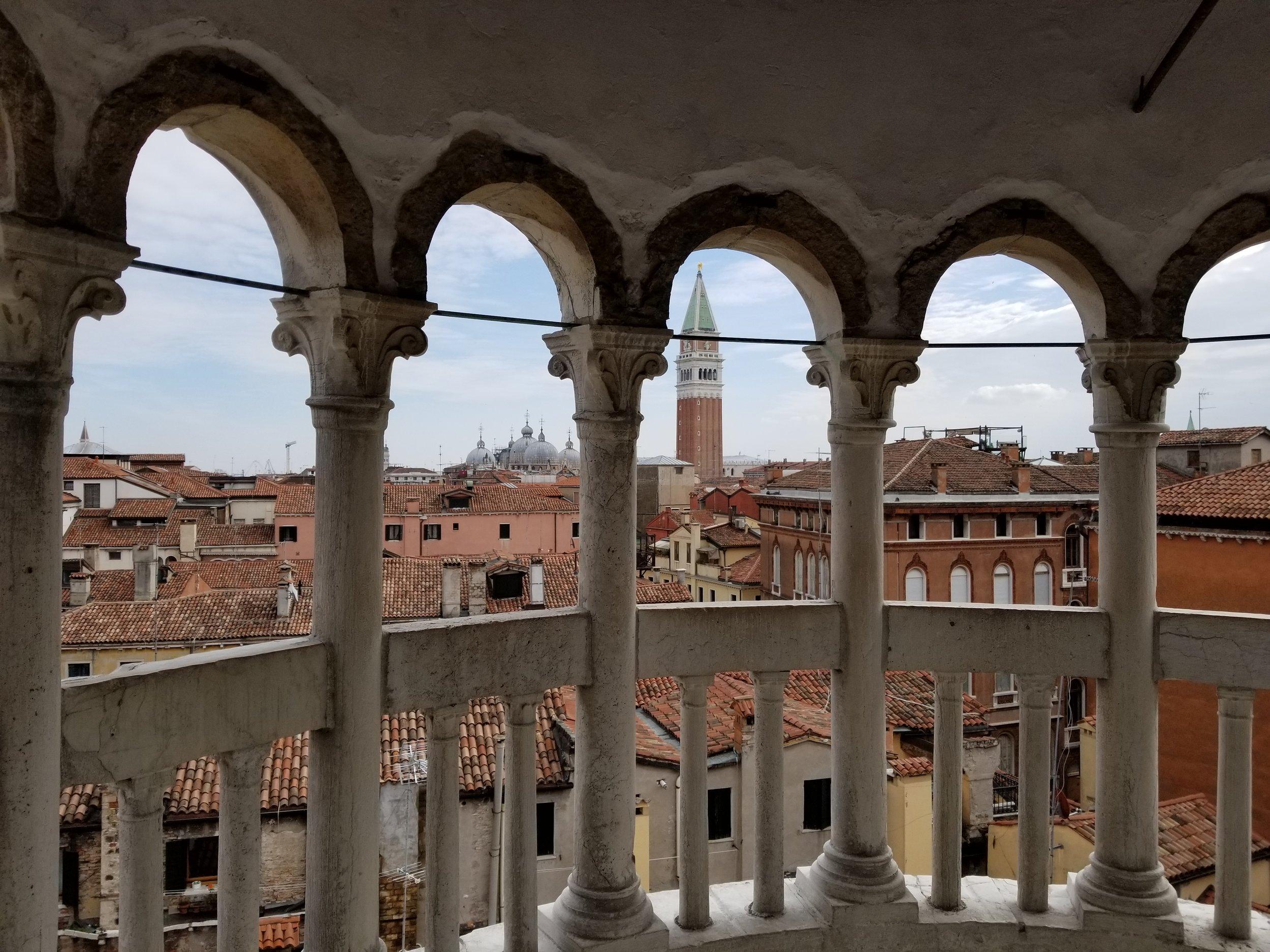 View from the Scala Contarini del Bovolo