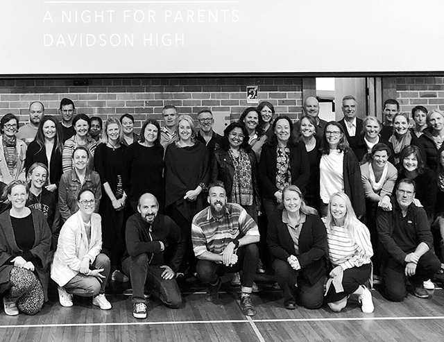 A Night with the Parents at Davidson High School NSW