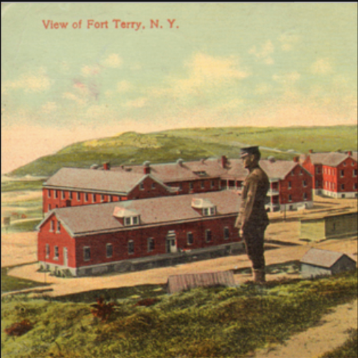 View of Fort Terry, NY - from a circa 1914 postcard