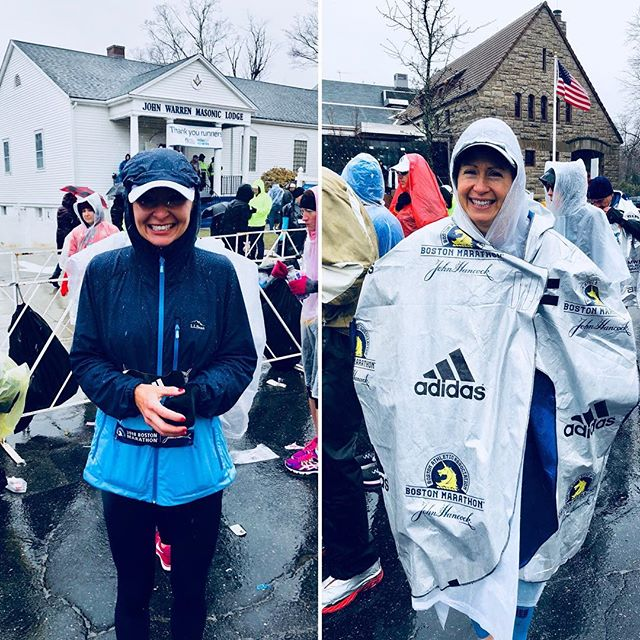 Congrats to our 🐀 LabRats @larlong and @charlewall for taking on weather and running in this year's 2018 @bostonmarathon  Lauren ran 3:44:28 and Charlette ran a PR 3:36:07 We couldn't be more proud! Hard work pays off! 💪#abilenestrong #bostonmarathon2018
