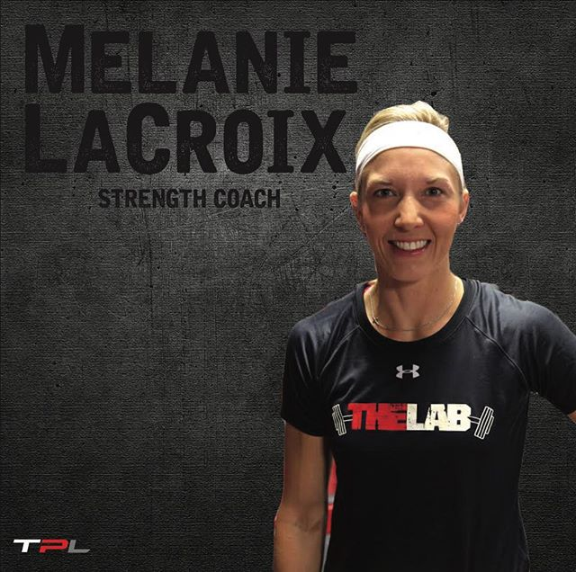 """""""If it doesn't challenge you, it won't change you."""" """"Be strong and courageous.  Do not be afraid; do not be discouraged, for the Lord your God will be with you wherever you go."""" ———————————————— Melanie LaCroix has a Bachelor of Science in Athletic Training from Lindenwood University in St. Charles, MO and a Bachelor of Science in Nursing from the University of Missouri-St. Louis.  She has worked with NCA Cheer and NAIA and NCAA Collegiate football and baseball.  She has also worked at a women's only gym, """"She's the One"""" in St. Louis, MO.  As an RN she worked as a Level I trauma nurse in St. Louis, MO and an ER nurse in Abilene, TX.  In 2012 she became a Certified Childbirth Educator with CAPPA and teaches at Pregnancy Resources of Abilene.  In October of 2017 she completed a CEU course in Prenatal Fitness.  Between raising four children and supporting her husband in his business, Melanie enjoys her role here at The Performance Lab coaching classes and assisting new members."""