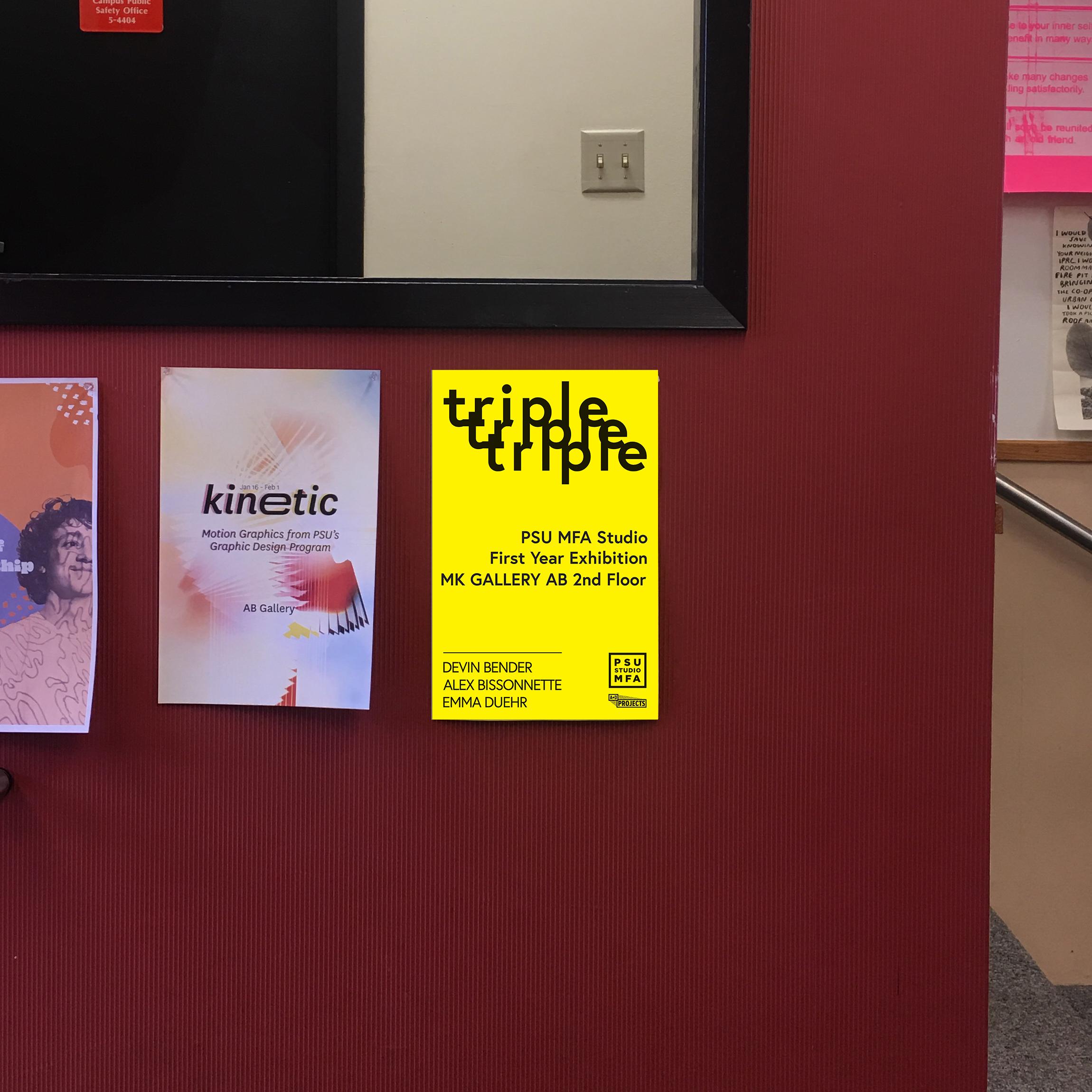 Printed Poster