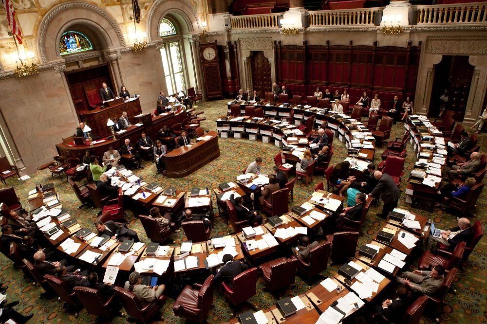 New York State Senate Floor