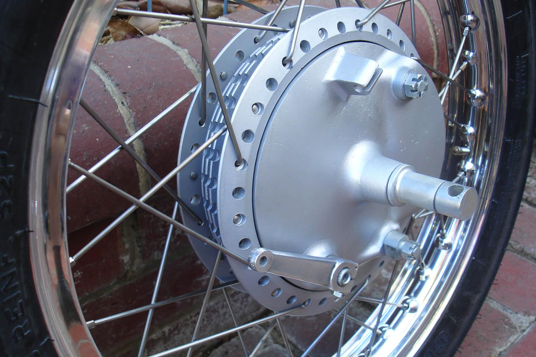 Kawasaki A1R rear hub.