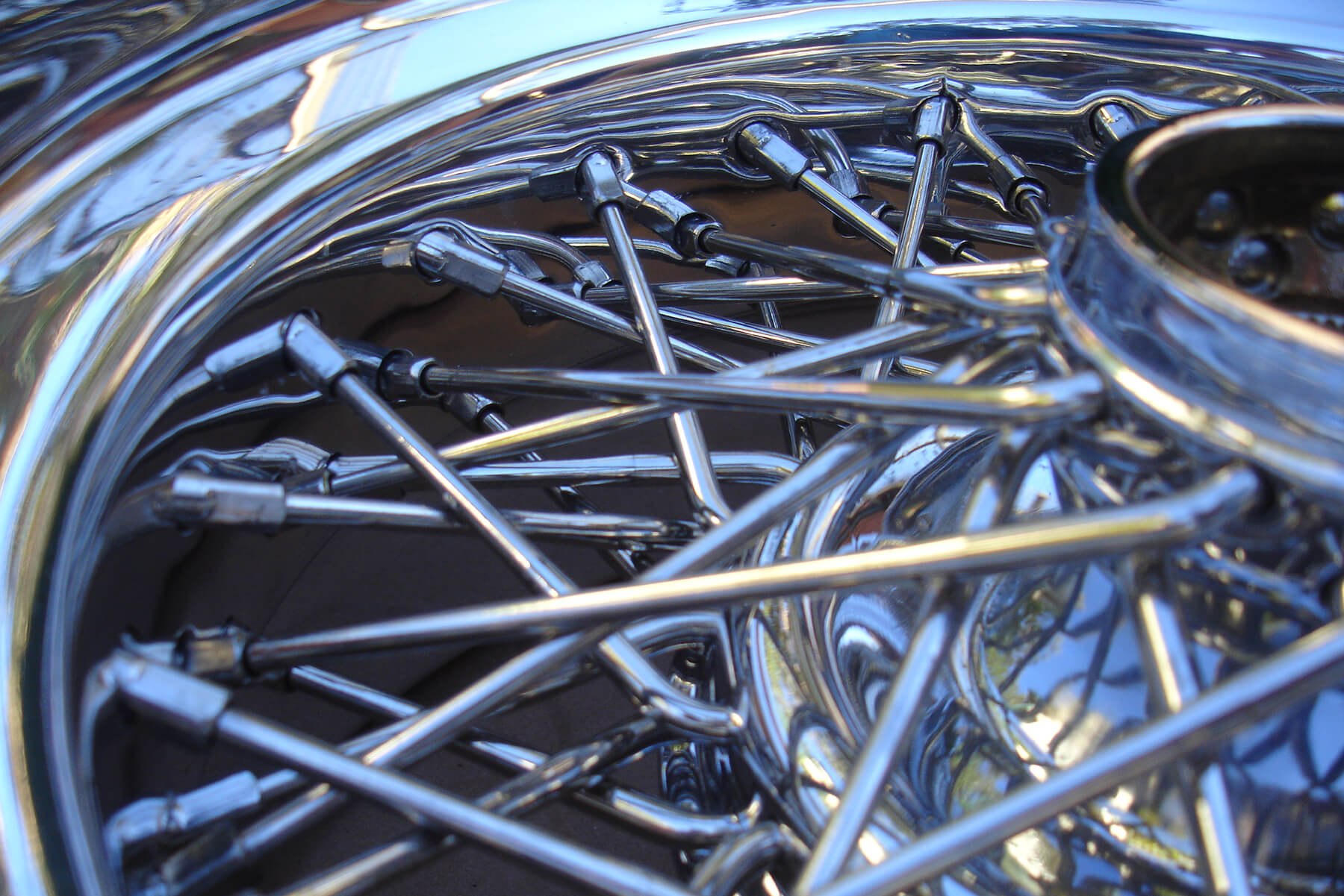 Ferrari Borrani wheel.