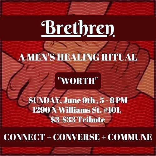 New time: 5pm.  Join us to discuss what men value regarding value - how we become worthy of our worth.  This Sunday.