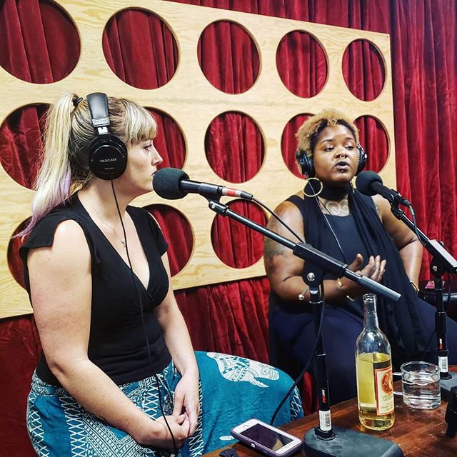More recording at #ThePodspace!  Today its @ladyspeech and Kristina Canady, talking about Shame.