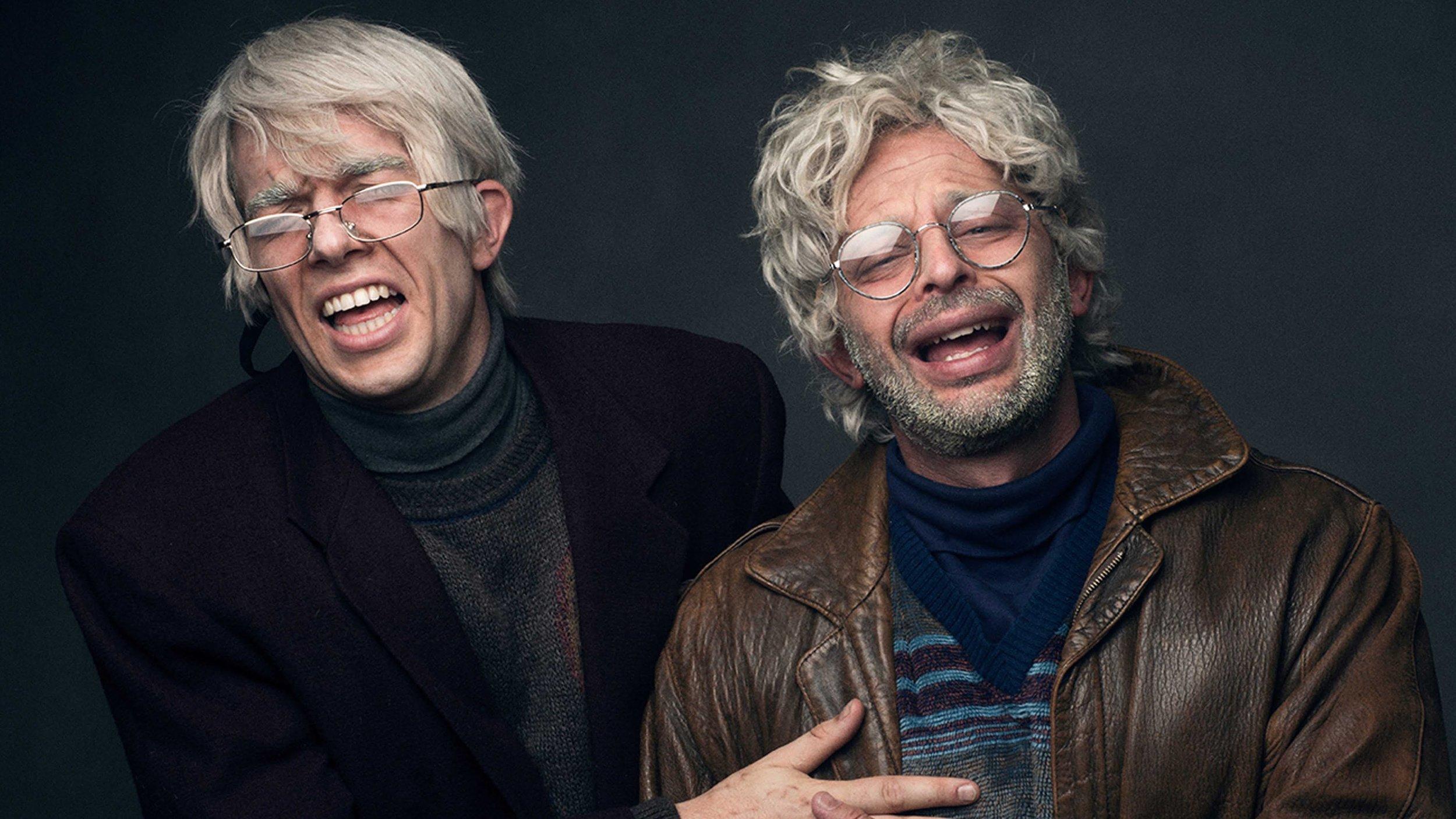 John Mulaney (left) and Nick Kroll (right)