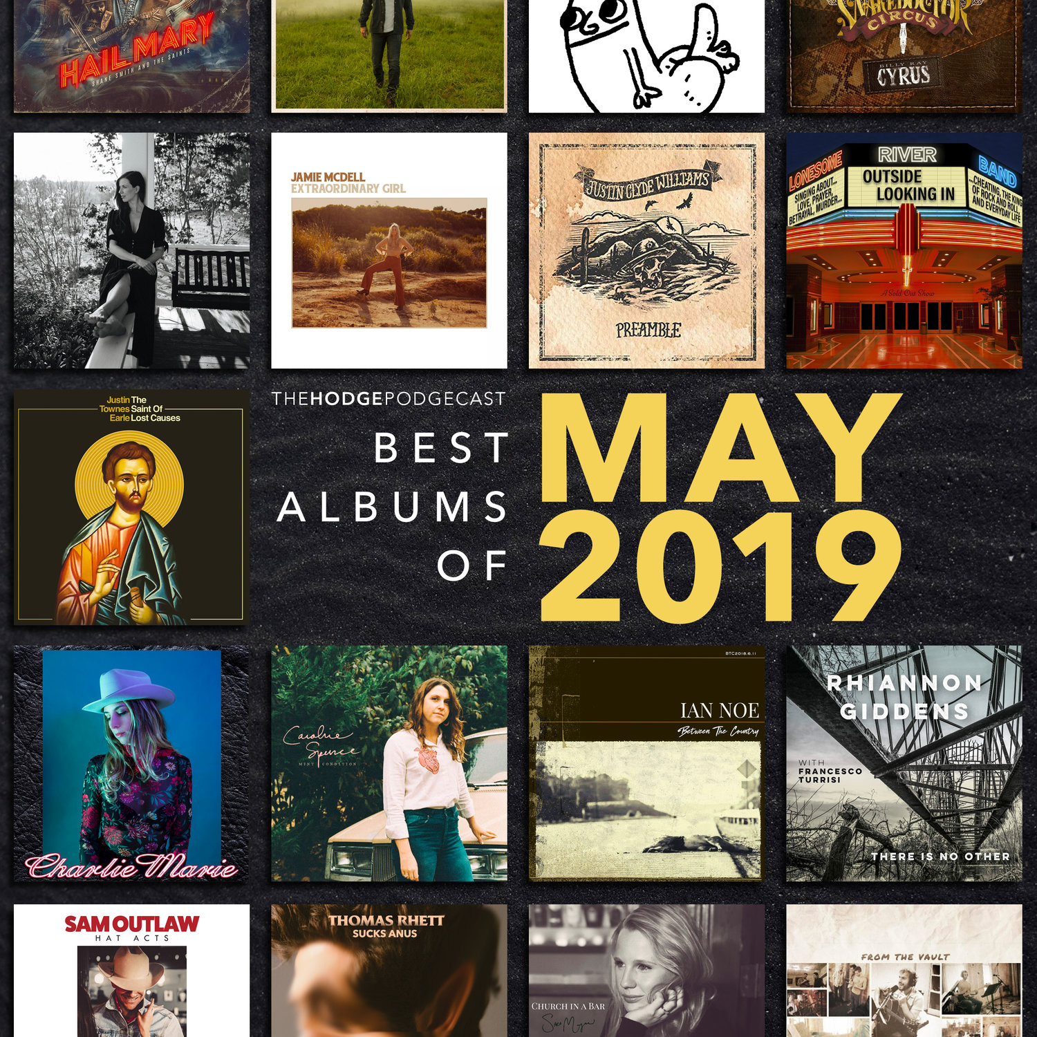 92  Best Albums of May 2019 — Country Hodge Podge