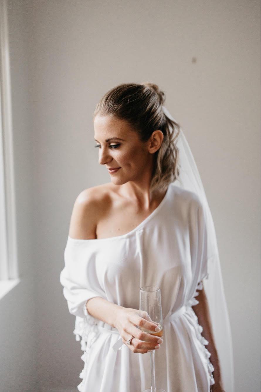 Real Bride Jasmin Cruise Liner Terminal Wedding Cairns - Makeup Artists Cairns
