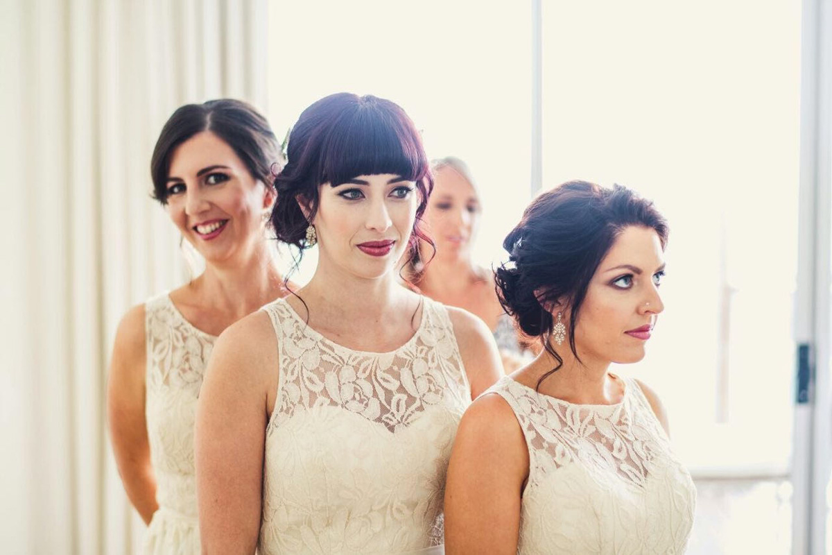 Real Bride May Cairns wedding Queensland makeup artists cairns