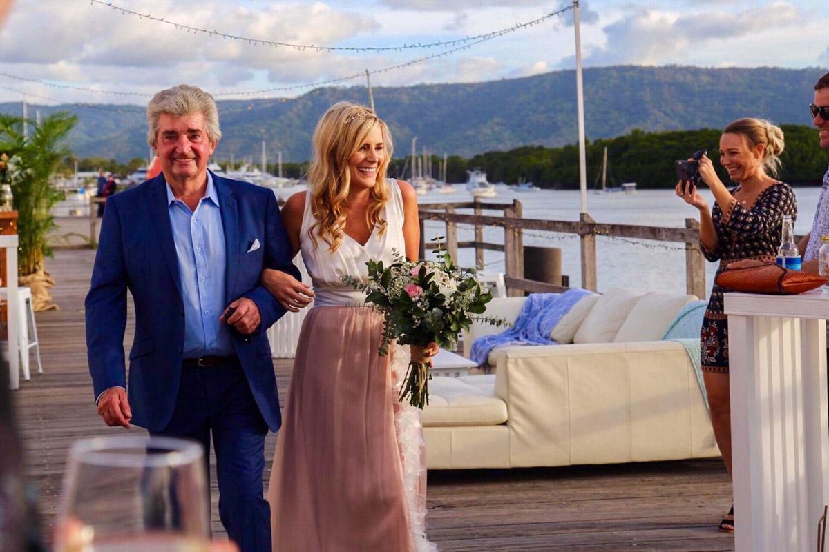 Real bride Jade Sugar Wharf wedding Port Douglas - Makeup Artists Cairns