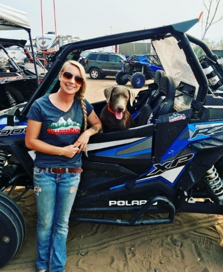 Business And Stuff —Kamie Blevins handles the real work…the paperwork, website, and merchandise - Kamie