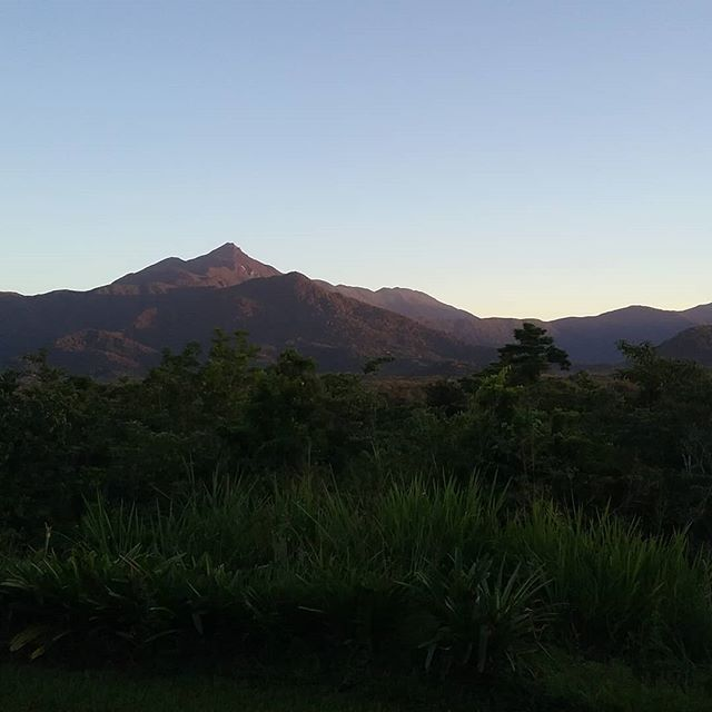 Morning skies from #wompooecoretreat #Daintree accommodation#views#Thorntons Peak