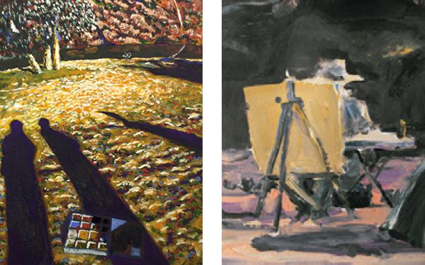 Artist of painting: Michael Nock Artist of painting: Euan Macleod