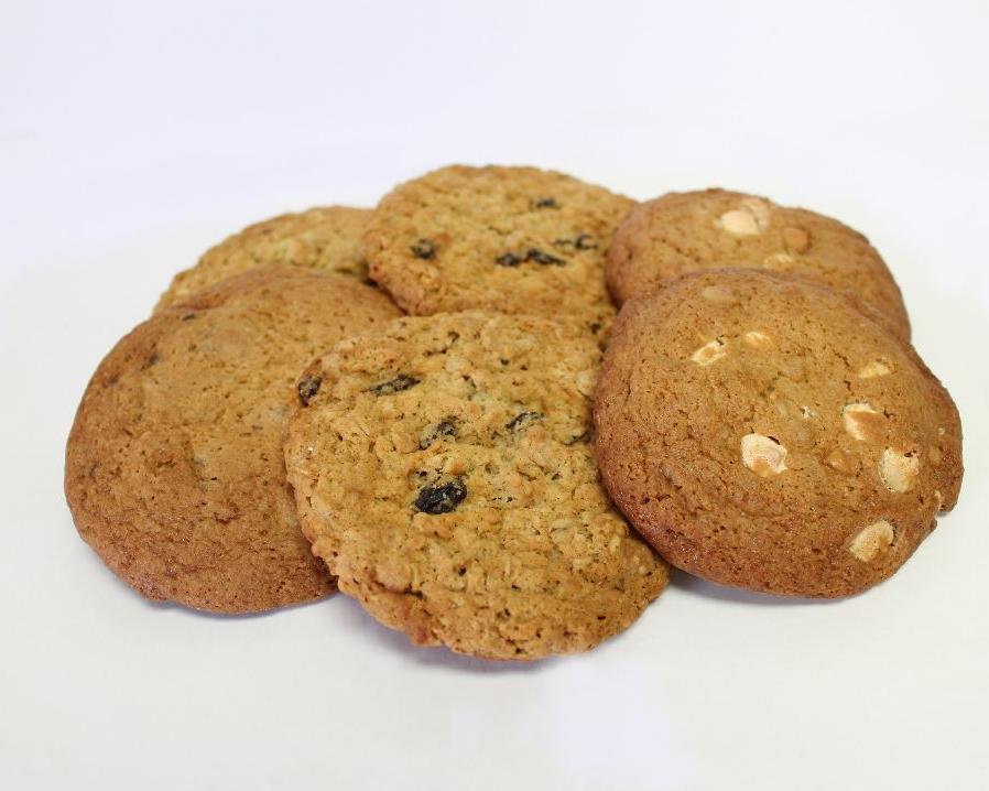 COOKIES - Oatmeal RaisinChocolateHazelnut MochaMacadamia White Chocolate