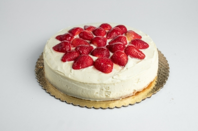 FRESH STRAWBERRY CHEESECAKE - By The SliceWhole Pie