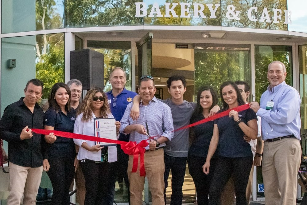 """This business would not be where it is today without the continued support from my family, all our employees and bakers who make our breads day in and day out, and above all, our loyal customers who have been with us and grown with us throughout the years- thank you"", proudly said Mr. Escobar before cutting the ribbon."