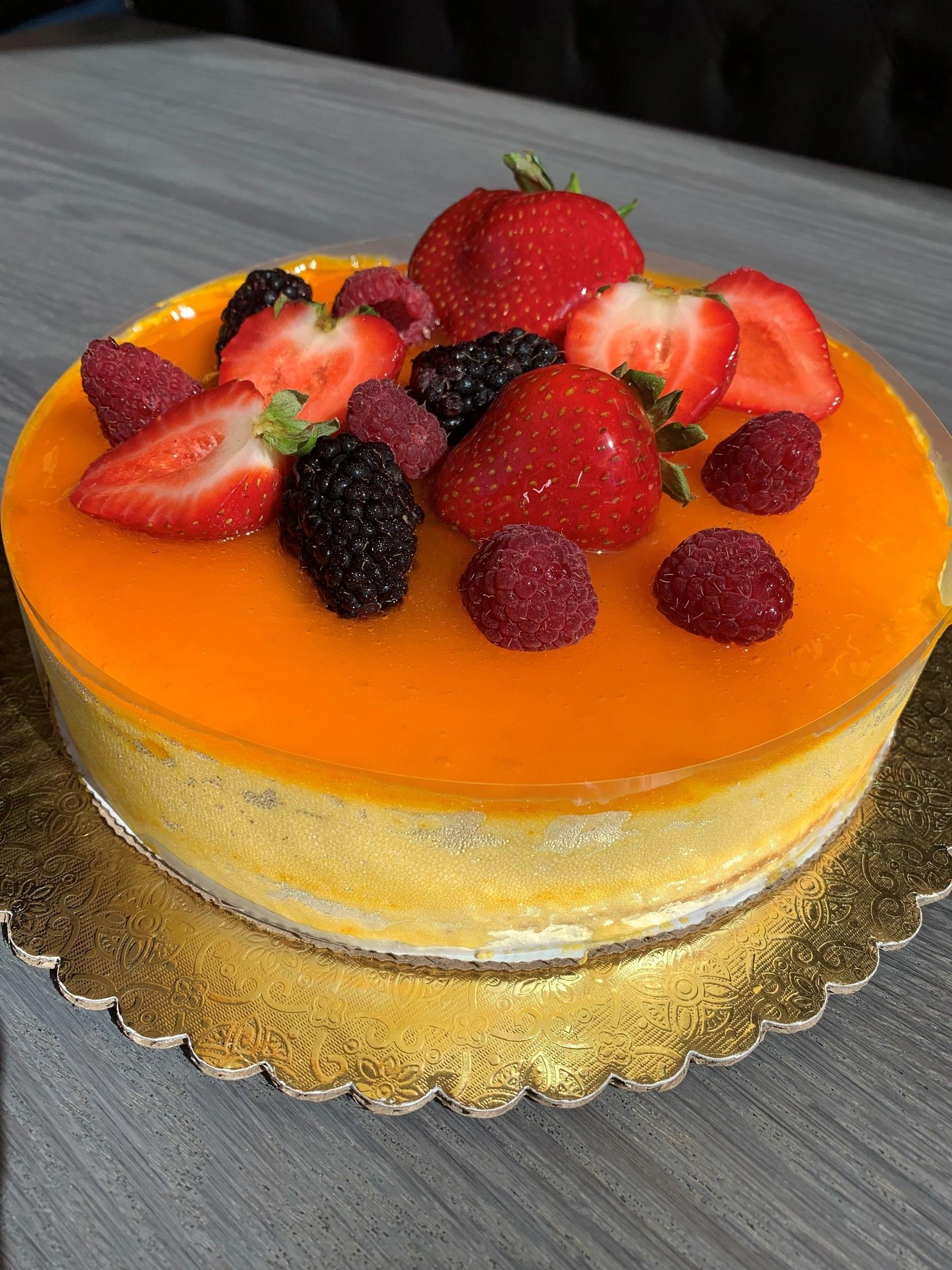 MANGO CHEESE CAKE - $40