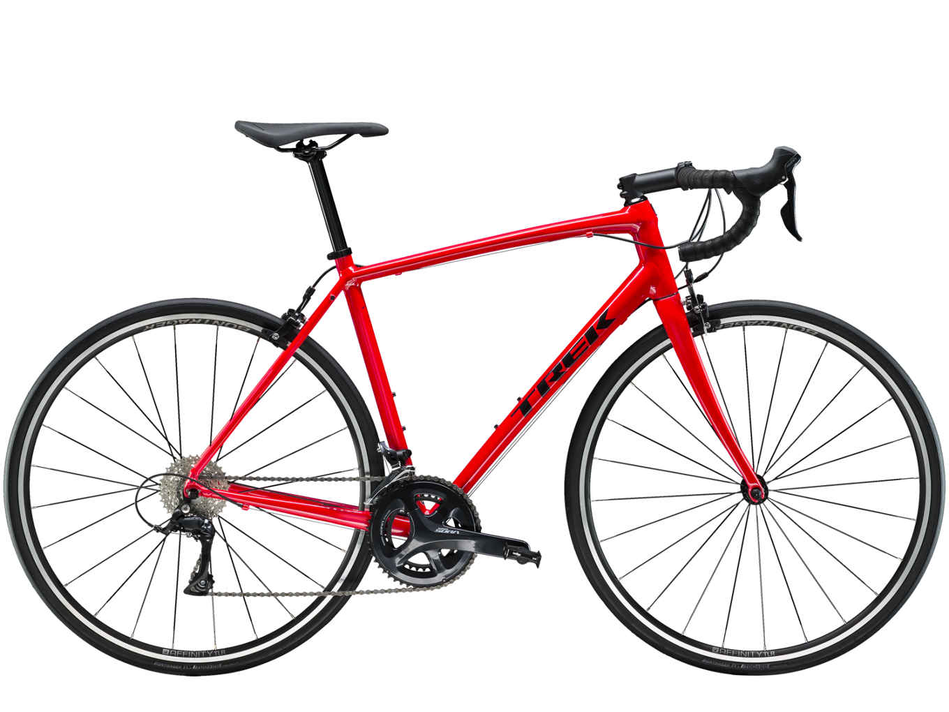 Domane AL 3 is smooth, stable, and confidence-inspiring. It's perfect for new riders and anyone looking to upgrade to a versatile aluminum road bike built for a comfortable riding experience. The quality parts are ready to tackle fast group rides and adventures that stray from the beaten path to rougher roads.