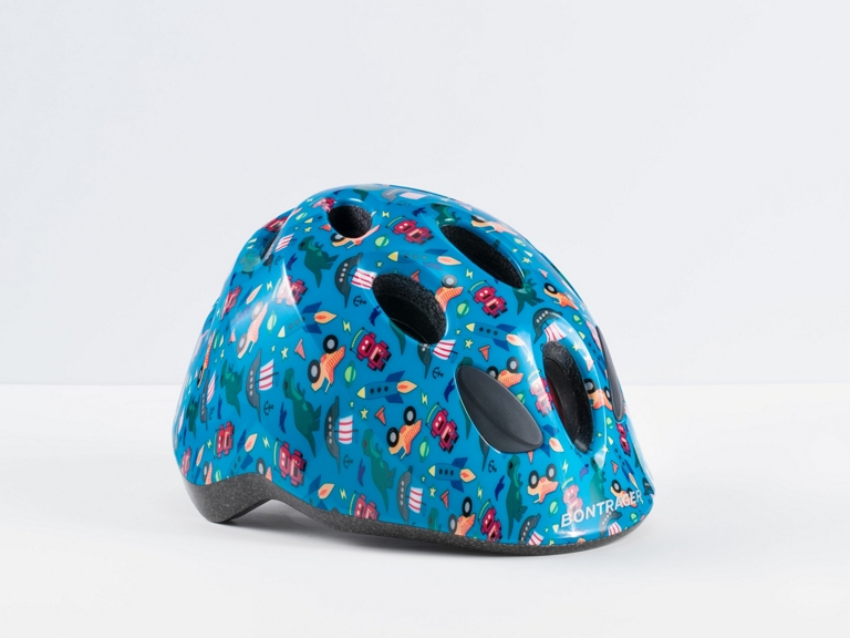 Bontrager Little Dipper MIPS Kids' Bike Helmet  Perfect first bike helmet with kid-friendly features and design with the added protection of MIPS.