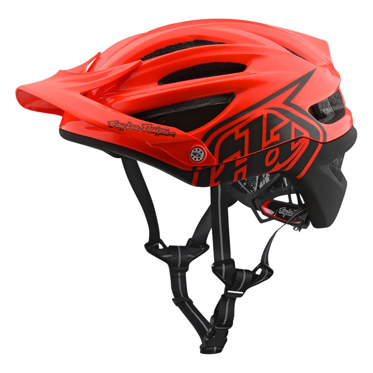Troy Lee A2 DECOY HELMET MIPS  The trailblazing A2 is Troy Lee Designs' MTB trail helmet that checks all the boxes. Its stylish shell not only incorporates huge intake and exhaust ventilation ports, it also comes with the very best in impact protection. From breakaway visor screws, the innovative MIPS® system and an industry first dual density EPP + EPS liner that protects against both high and low speed impacts; this is a helmet that doesn't take your safety lightly. Add in a revised adjustable strap and X-Static® Pure Silver comfort liner for 2018 and the comfort is every bit on par with the protection.