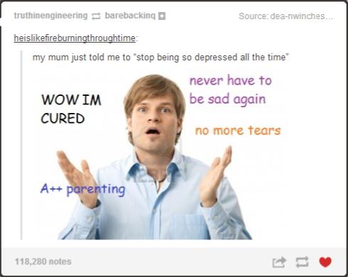 Stop Being So Depressed