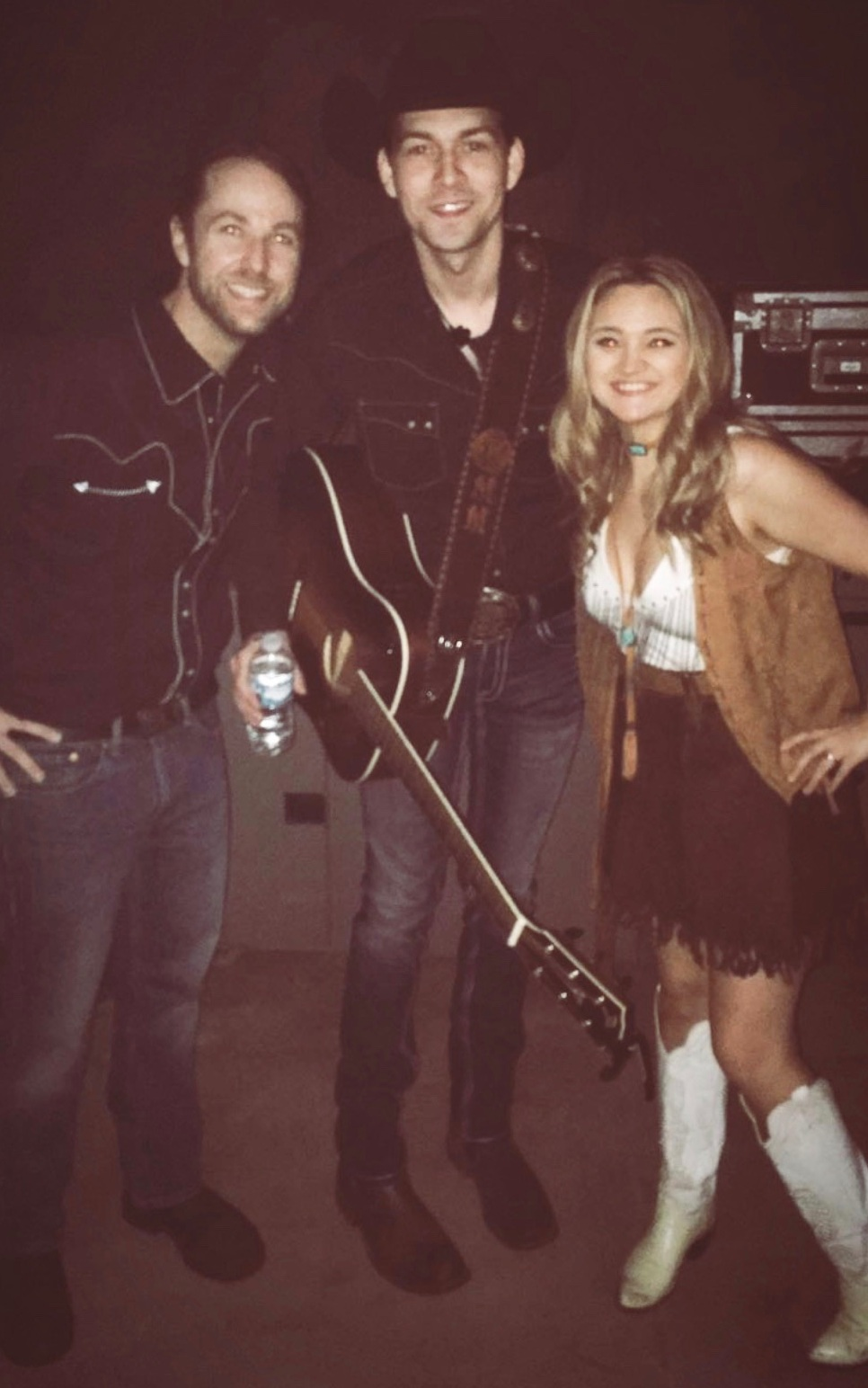 Francelle was the Opening Act on the Alan Jackson Tour with special guest William Michael Morgan.