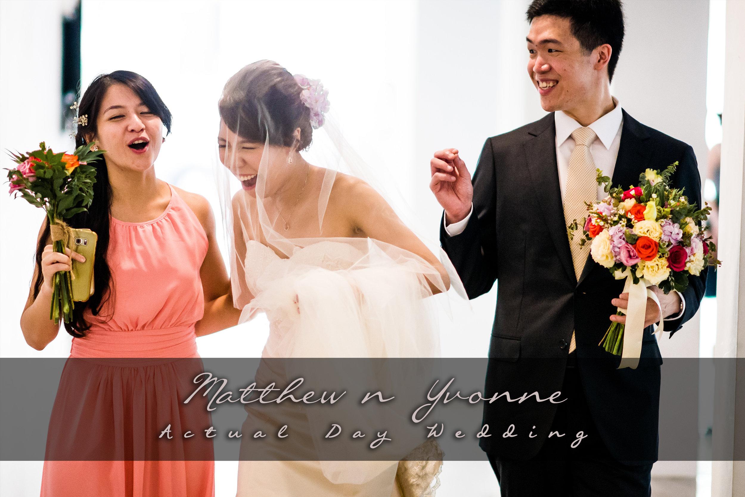 Singapore Church Wedding Ceremony