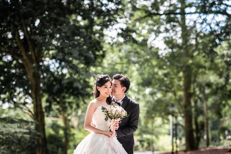Botanic Gardens Wedding Photography Singapore