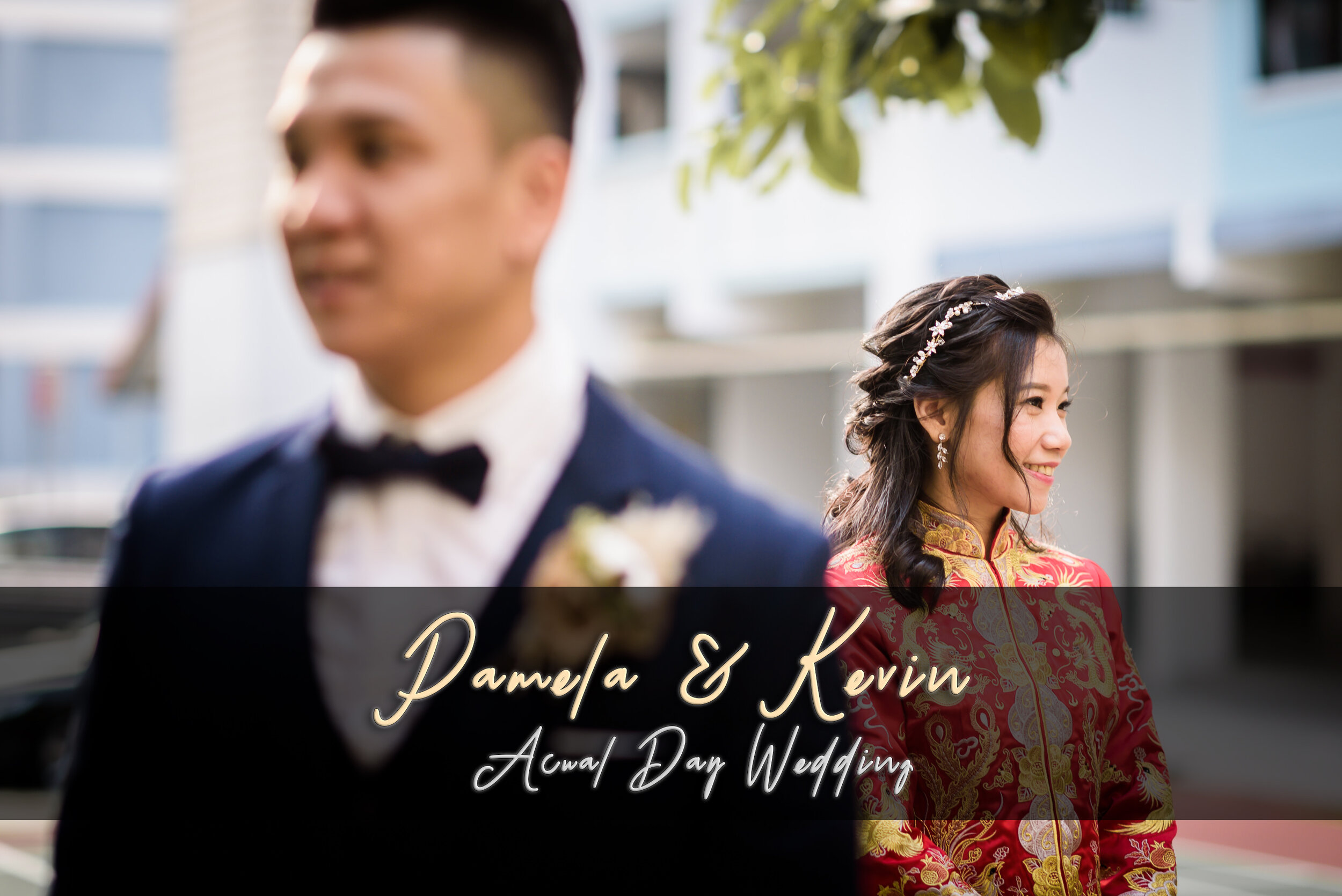Singapore Wedding Photography Actual Day Pam & Kevin